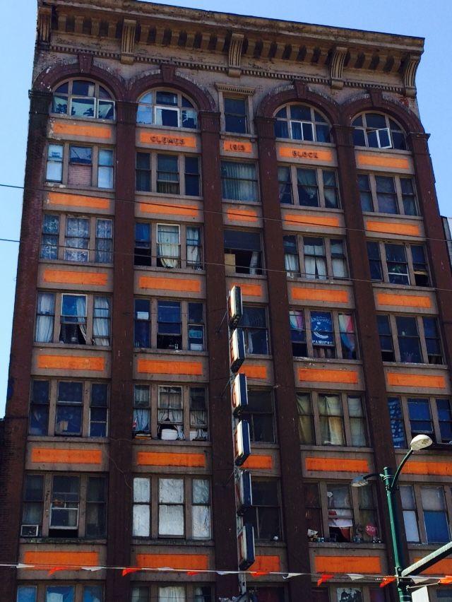 regent view of building